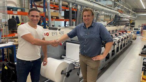 Albdesign installs first MPS flexo press