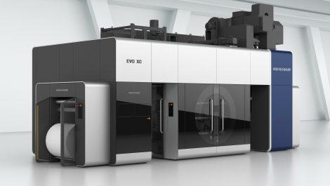 Koenig & Bauer Flexotecnica add new press to Evo line