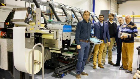 Greek label printer chooses Gallus