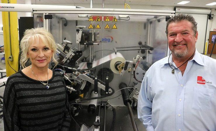 Abbott Label installs ABG's Vectra