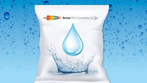 Water-based inks adopted by Arrow Film Converters