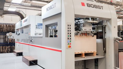 Hat-trick of Bobst installations at Coveris