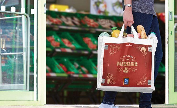 Esko technology helps deliver Aldi's festive bag