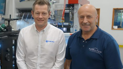 Hamilton Adhesive Labels switches to RotoMetrics tooling