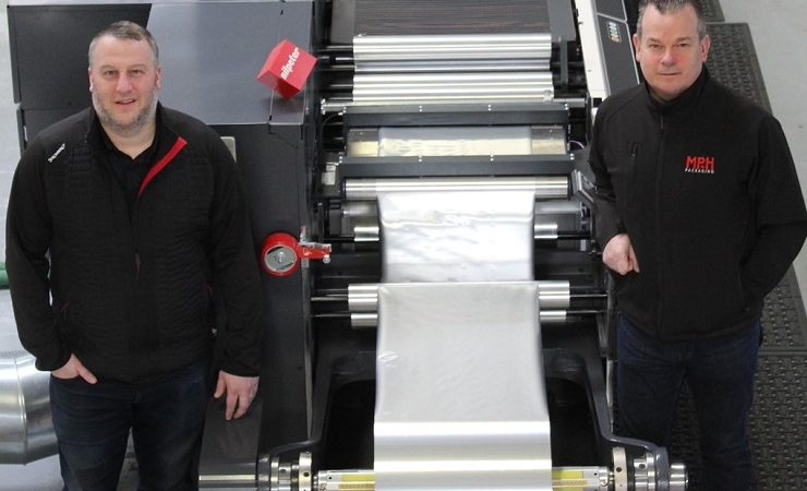 MP+H Packaging uses Close Brothers for Nilpeter FA