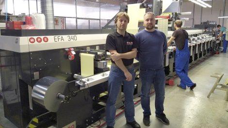 MDM-Flex installs MPS flexo press