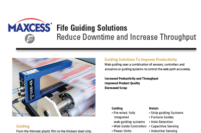 Maxcess Fife Guiding Solutions