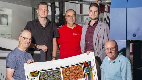 Sun Chemical and Esko provide seven-colour ECG printing
