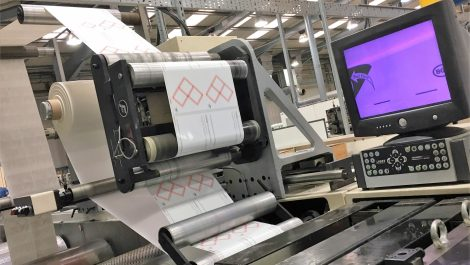 Pulse Roll switches to multi-layer labels