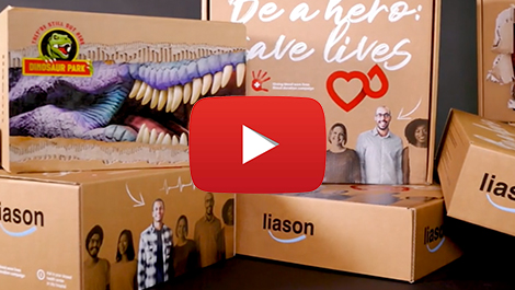 Nozomi C18000 inspiring e-Commerce:Using delivery boxes as a new media for advertising