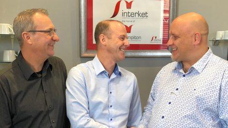Interket installs MPS press
