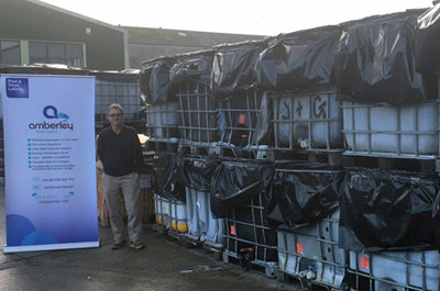 Zero Labels to Landfill certificate for Amberley Labels