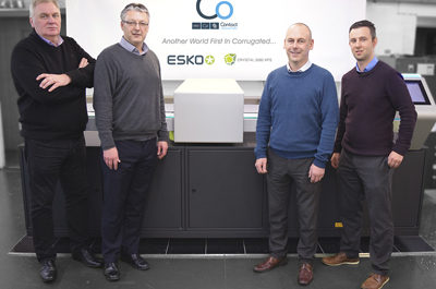 Contact Originators claims UK first in corrugated