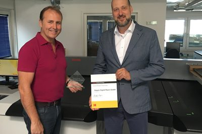 Nägele receives Kodak Flexcel NX plate certification