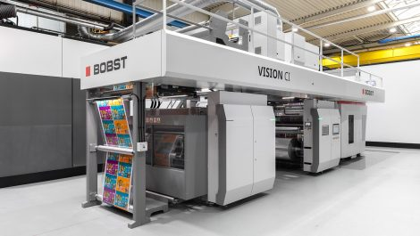 Bobst unveils new CI press
