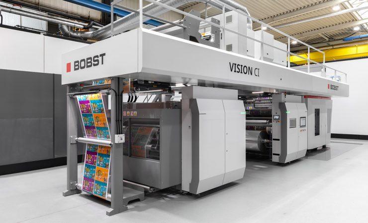 Bobst unveils new CI press