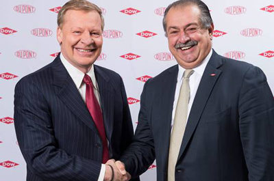 Dow and DuPont combine in merger
