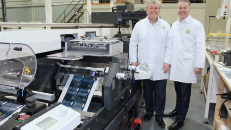 Abbey Labels in die-cutting world first