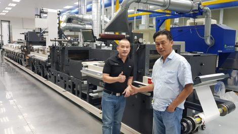 Master Label installs largest Nilpeter press in Indonesia