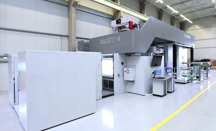 Roberts Mart installs Allstein press