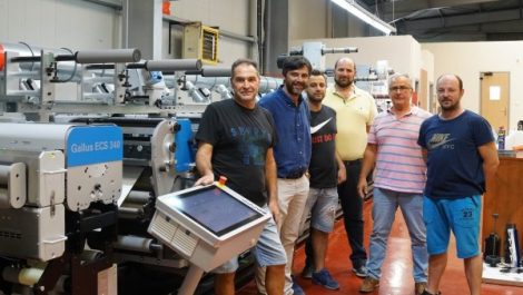 Gallus label press lands in Thessaloniki
